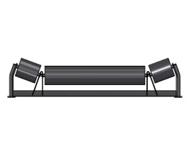 60 in Belt Width 35/° Angle Trougher Equal Idler Complete Assembly 5 in Roll Diameter CEMA D Rating