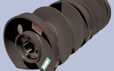 Vortex® Spiral Clean Pulley Awarded Patents